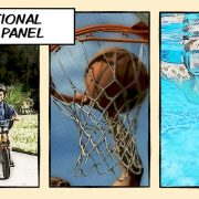 traditional three panel