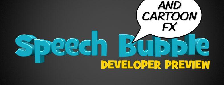 Speech Bubble developer preview