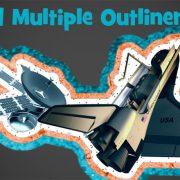mutliple outlines 2