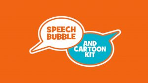 Speech Bubble, Cartoon Panel & Cartoon Effect Bundle
