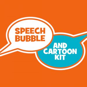 speech bubble logo ms