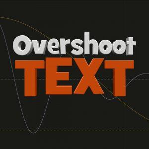 Overshoot Text LOGO