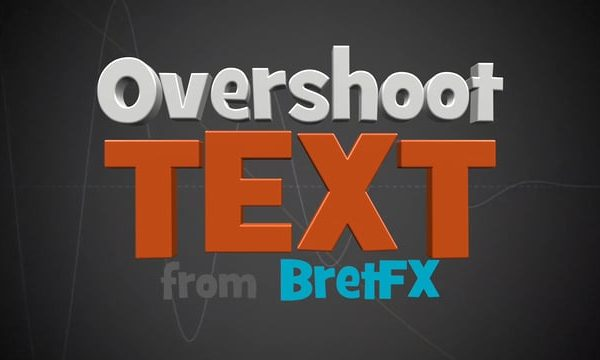 Overshoot Text demo