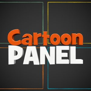 Cartoon Panel Logo