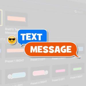 Text Message Logo Presets