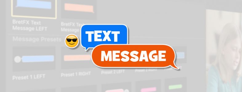 Text Message Logo Presets