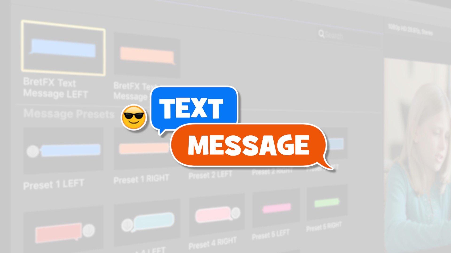 New Plugin: Text Message