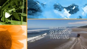 Parks and Re-Creation Split Screen Transitions